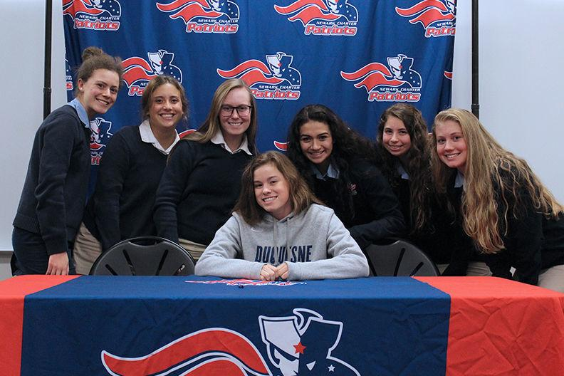 Newark Charter 39 S Emma Menzer To Swim At Duquesne Newark