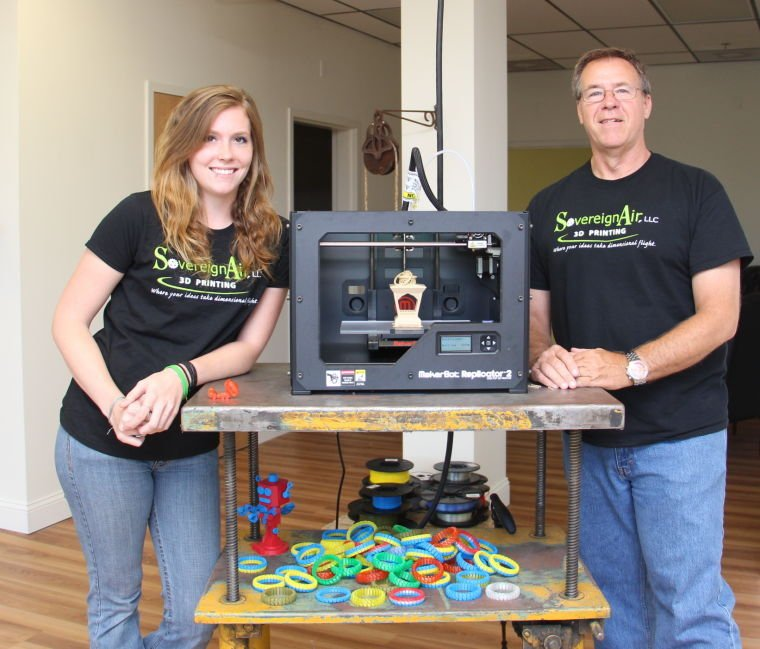 3D Printing Shop Brings 'next Industrial Revolution' To