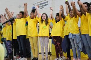 Christina students celebrate National Reading Month