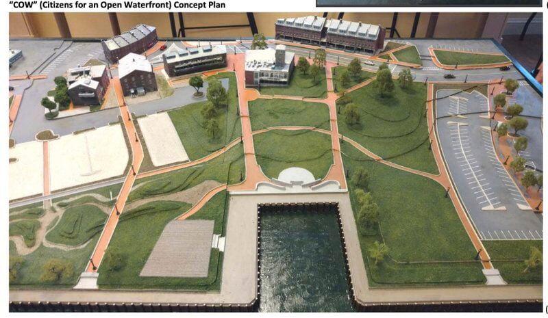 Firm picked for Market Landing Park design