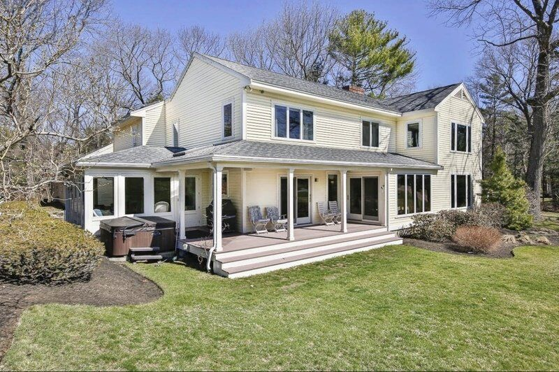 Expanded colonial affords peace and tranquility in Wenham