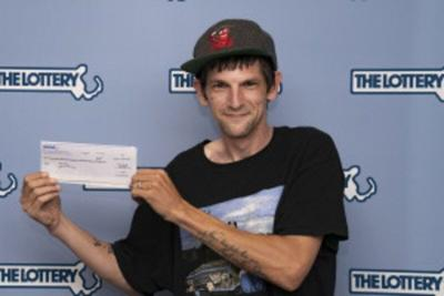 Port man scratches $1M lottery ticket