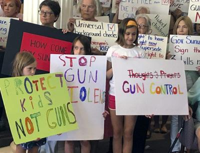 Gun control supporters urge Sununu to sign bills