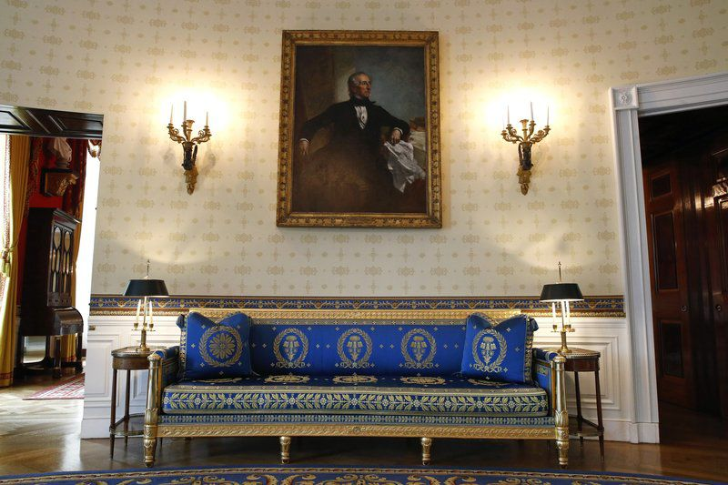 Refreshing the White House: First lady spruces up rooms in Washington mansion