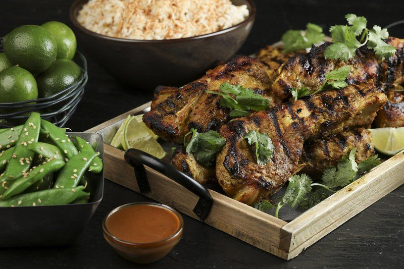 Comfort cooking calls for spicy heat, likeThai-style grilled ribs