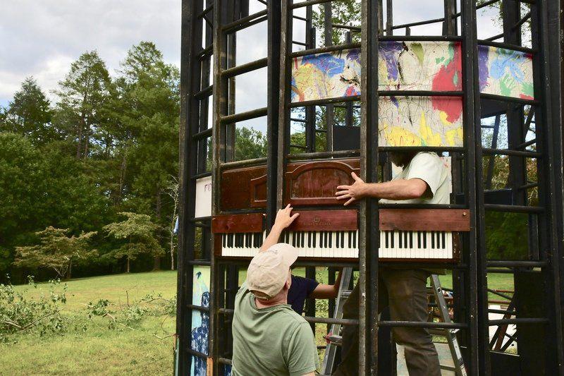 Making art at Maudslay: Outdoor sculpture show celebrates 20th anniversary