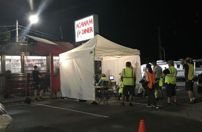 hollywood crew films at rowley s agawam diner news