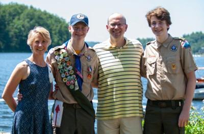Freemanreceives Eagle Scout award