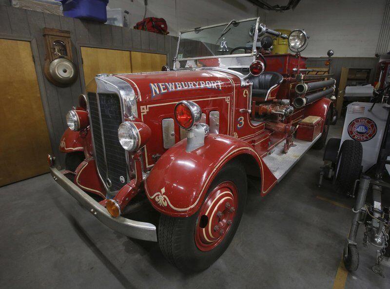 Newburyport Fire Department aims to restore Depression era Maxim fire engine