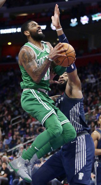 sports in a minute celtics guard kyrie irving to miss rest of