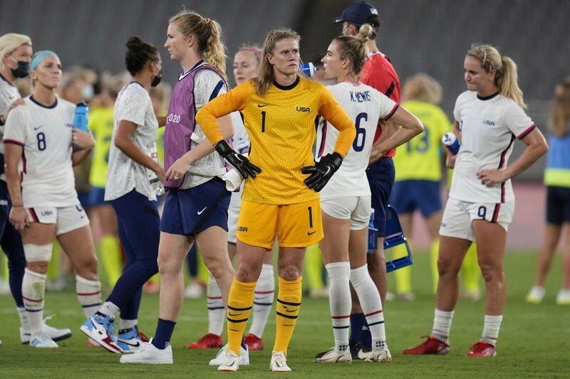 Sweden stuns US in women's soccer at Olympics