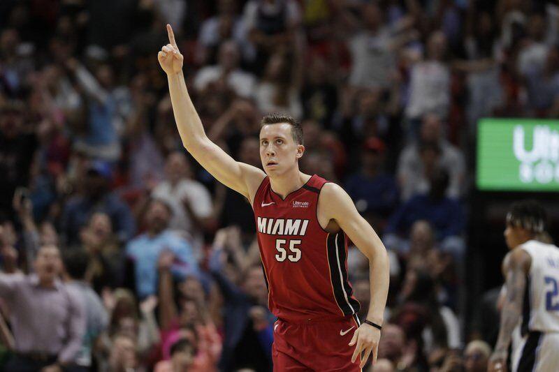Governor S Alum Duncan Robinson Blazing Unique Trail With Miami Heat Local Sports Newburyportnews Com