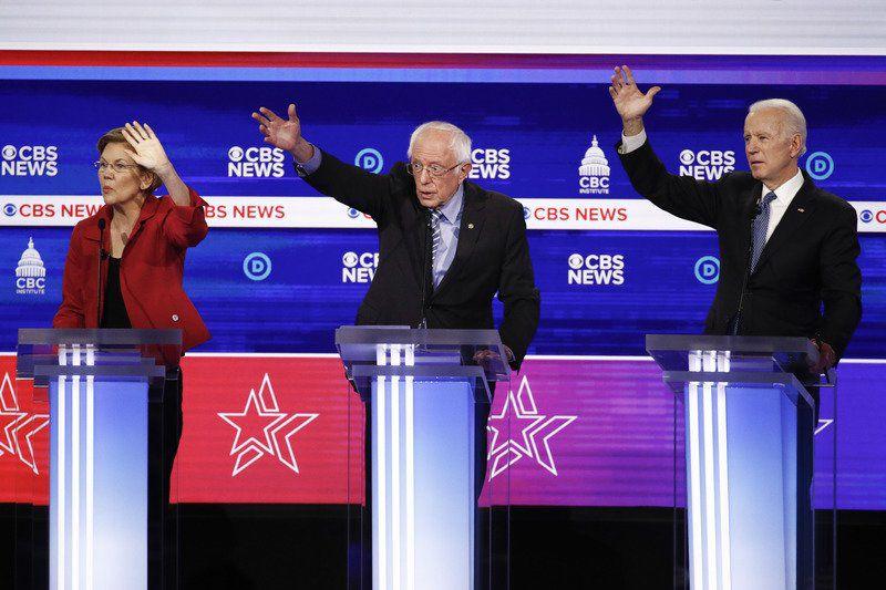 Sanders faces attacks inDemocratic debate