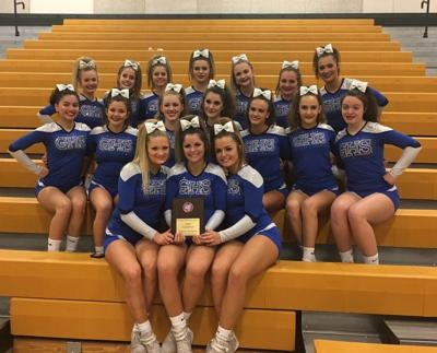 Sports in a Minute: Georgetown repeats asCAL Cheerleadingchamps