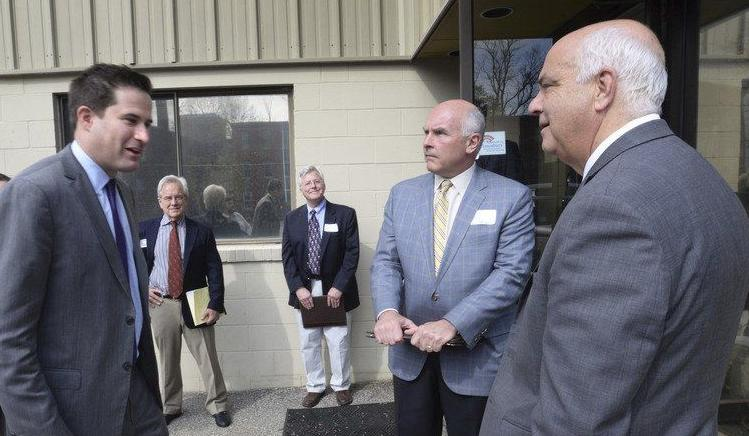 Moulton meets with small business owners
