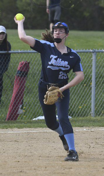 Softball: Triton jumps in front early, hands Amesbury first