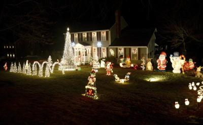 amesbury family will turn out lights on christmas display