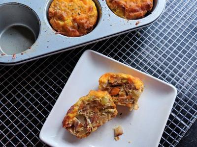Start your day with sweet and savory muffins