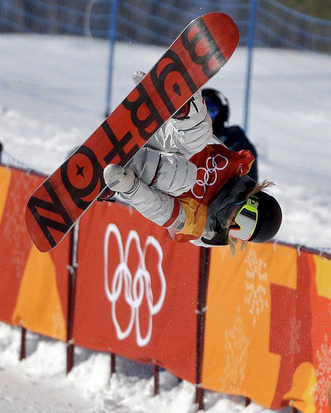 Victory lap: Chloe Kim takes her family on a gold-medal ride