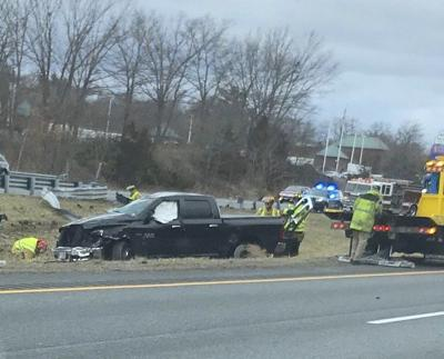 NH manfaces driving, gun charges after I-95 rollover
