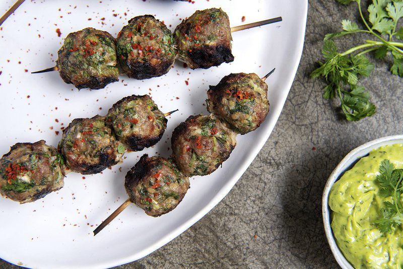 Meatballs a tasty way to use up all your herbs