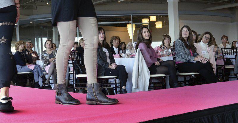 Walking the pink carpet