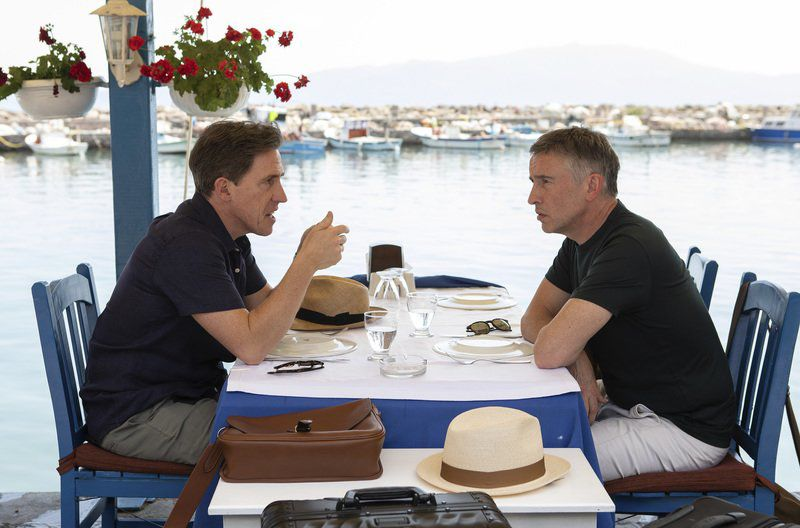 Movie review: Coogan and Brydon spar again in 'The Trip to Greece'