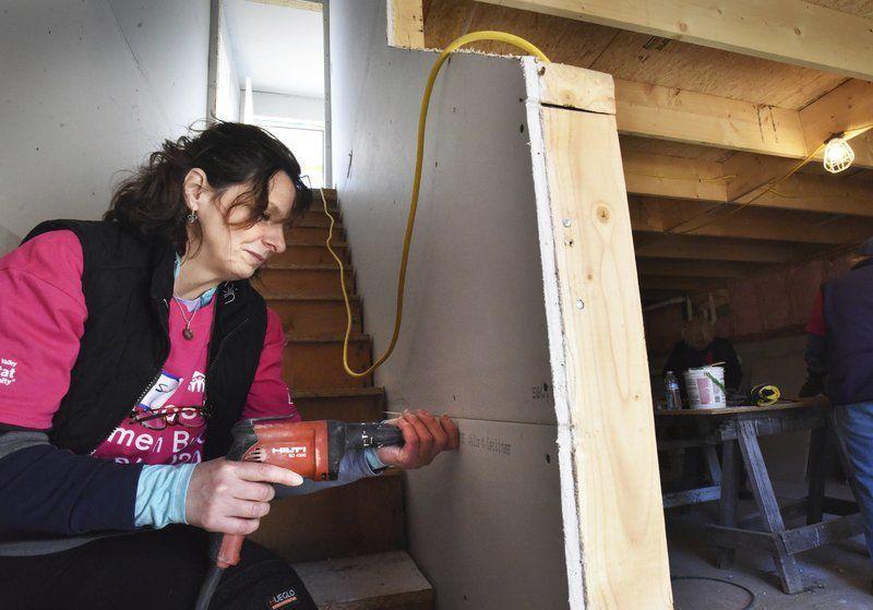 Women spend week building homes in Salisbury