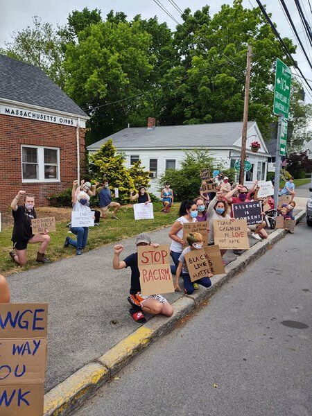 Halloween 2020 Trick Or Treat West Newbury More than 100 rally in West Newbury in call for justice | Local