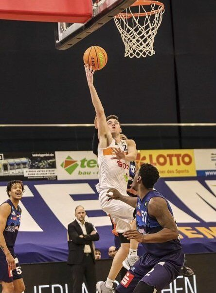 Local hoops star goes out with a bang in Germany