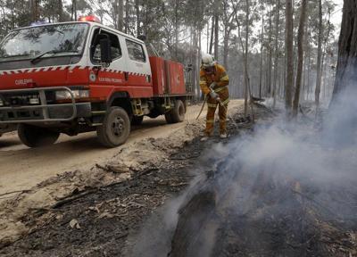 Wildfire battle continues inAustralia