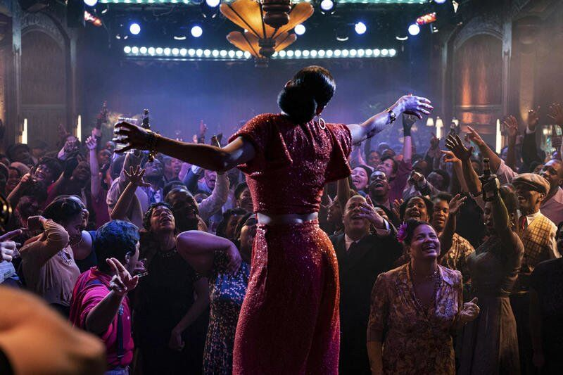 Movie review: Andra Day shines in overstuffed Billie Holiday bio