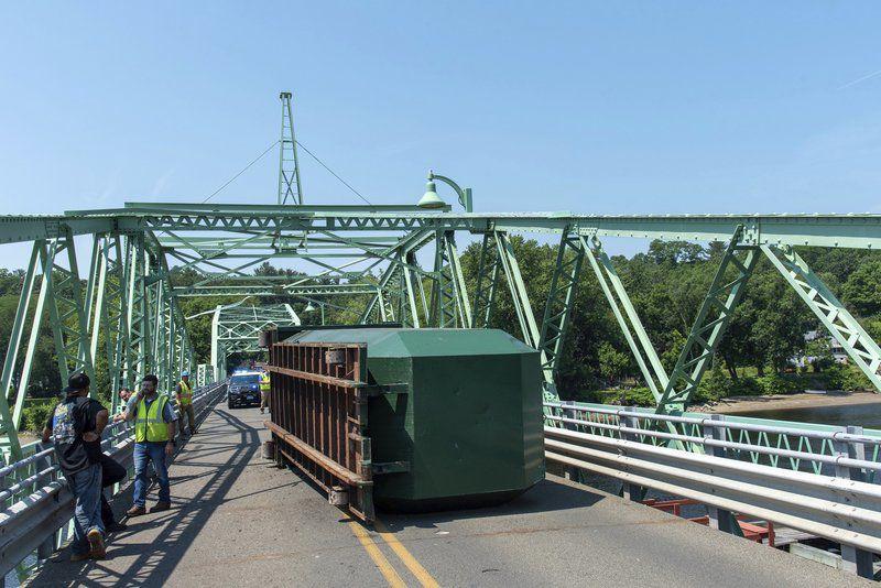Rocks Village Bridge closedafter accident