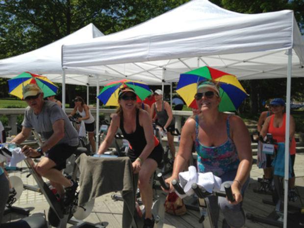 Spinning to fight cancer   Lifestyles   newburyportnews com