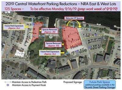 Parking space removal points toward expanded park in Newburyport