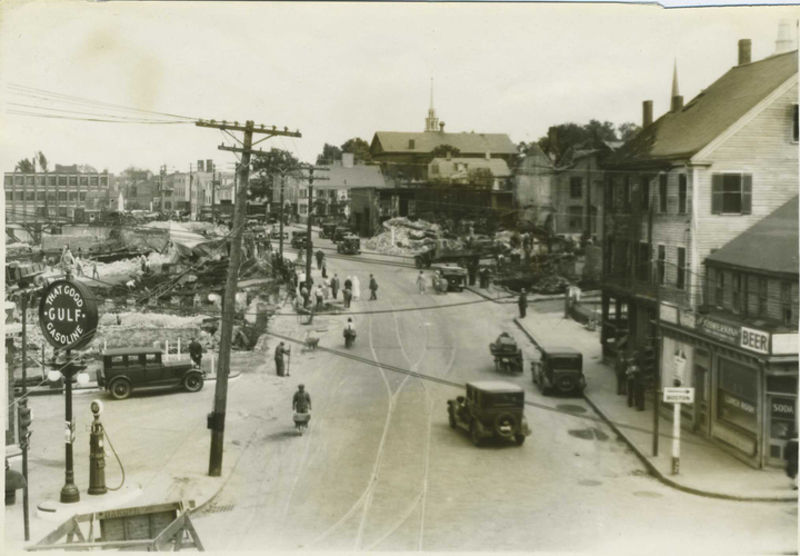 May 19, 1934 fire in Newburyport MA