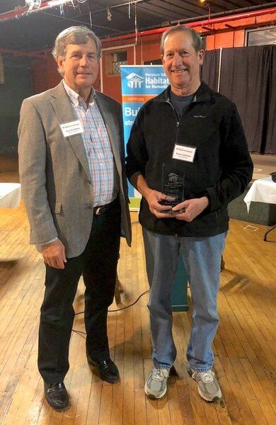 Sumberg honored for work with Habitat for Humanity
