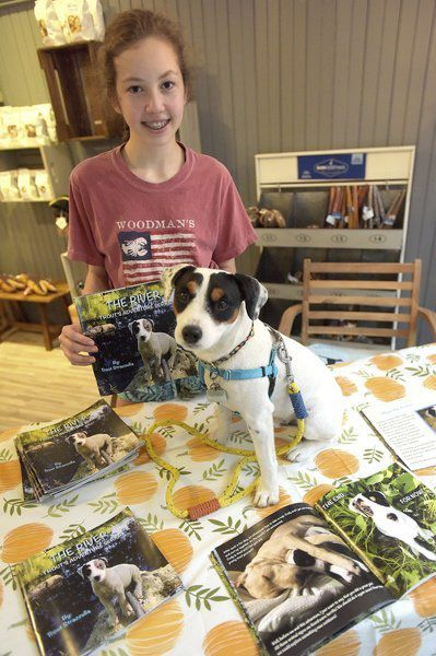 Ruffing it on the river: Book traces waterfront adventures of lovable local dog