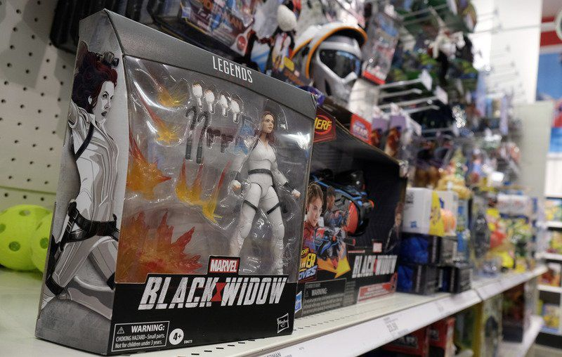 Movie-related products still hit stores despite film delays