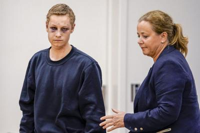 Norway mosque attack suspect smirks in court
