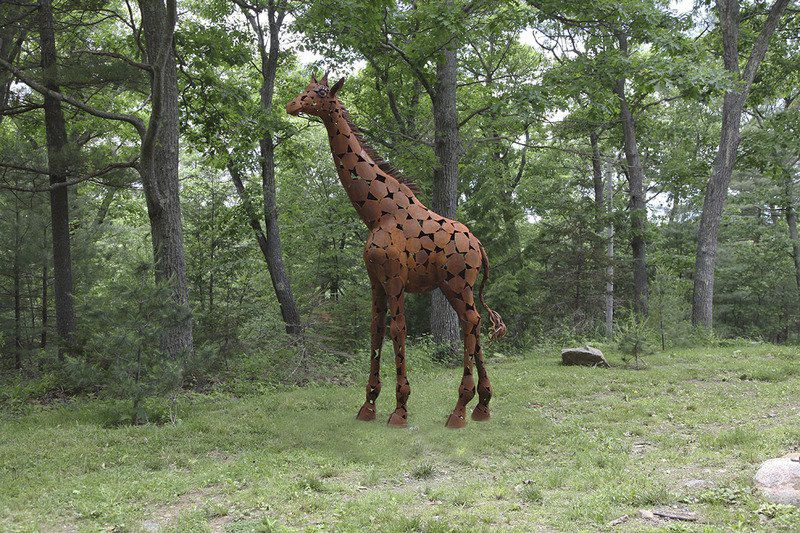 Sculpture speaks: Flying Horse outdoor exhibit returns for its 10th year