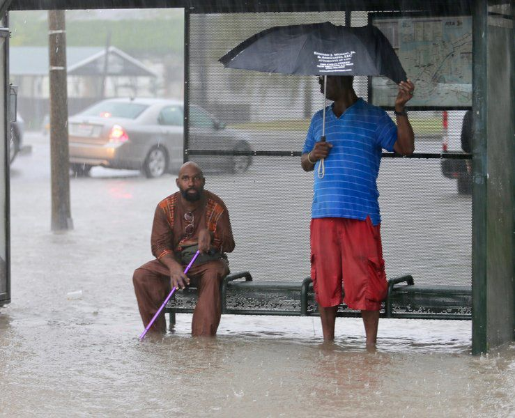 New Orleans frets about more flooding, possible hurricane