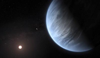 Water, temperature right for life on another planet