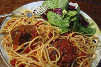 Whip up classic comfort food: spaghetti and meatballs