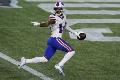 APTOPIX Bills Patriots Football
