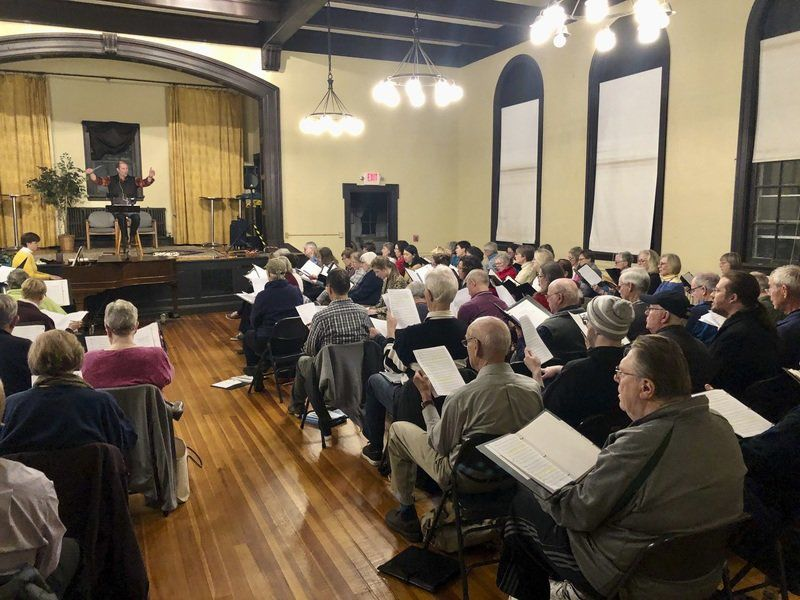 Heralding Christmas 2020, December 9 Heralding the season: Newburyport Choral Society presents