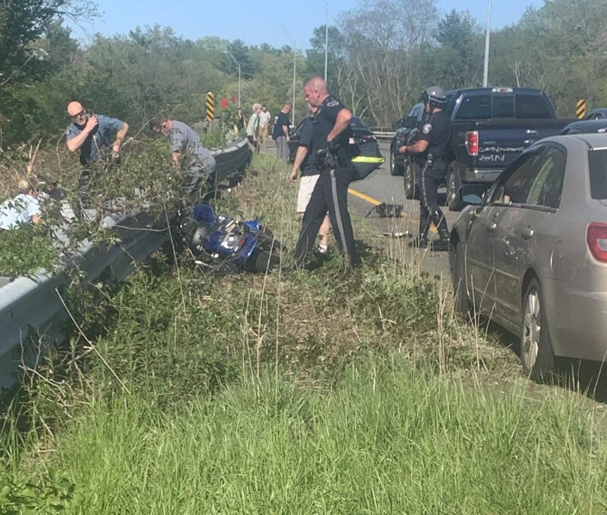 Lowell Man Dies After Truck Hits Stopped Motorcycle On I 495 News Newburyportnews Com