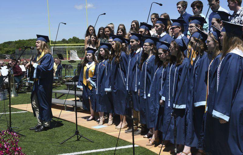 Triton seniors celebrate successes at graduation