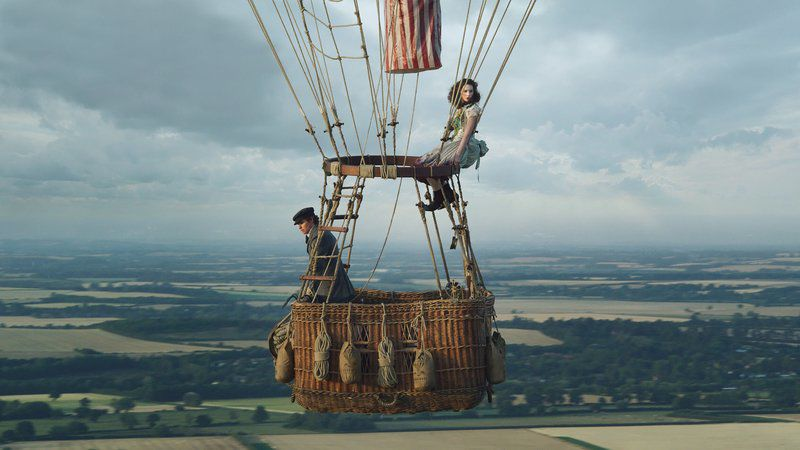 Movie review: 'Aeronauts' doesn't exactly soar, but Jones does