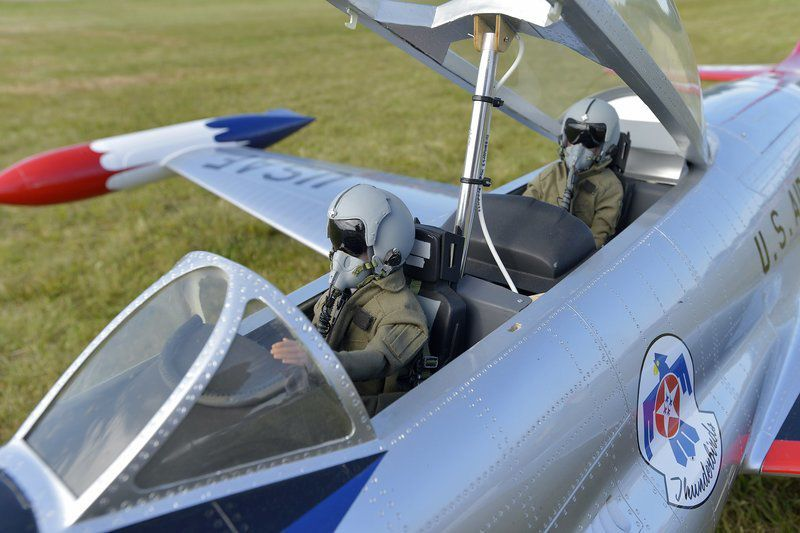 Jets roar in the skies over Plum Island Airport